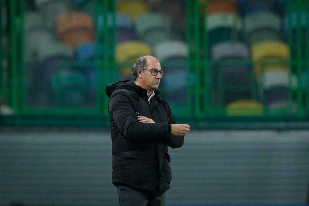 Treinador do Rio Ave quer dar sequência ao bom resultado com o Sporting