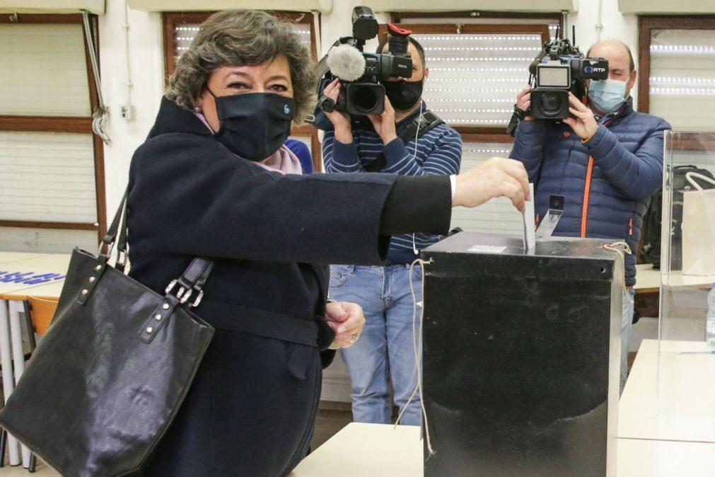 Presidenciais: Ana Gomes saúda afluência mas lamenta por quem não pode votar