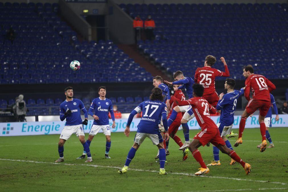 Bayern Munique reforça liderança com goleada ao lanterna-vermelha Schalke