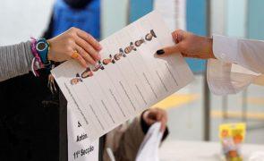 Presidenciais: Afluência às urnas até às 16h00 foi de 35.44%