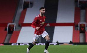 'Golaço' de Bruno Fernandes elimina Liverpool da Taça de Inglaterra
