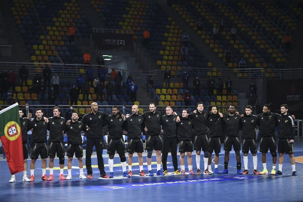 Andebol/Mundial: Portugal falha quartos de final ao perder com a França