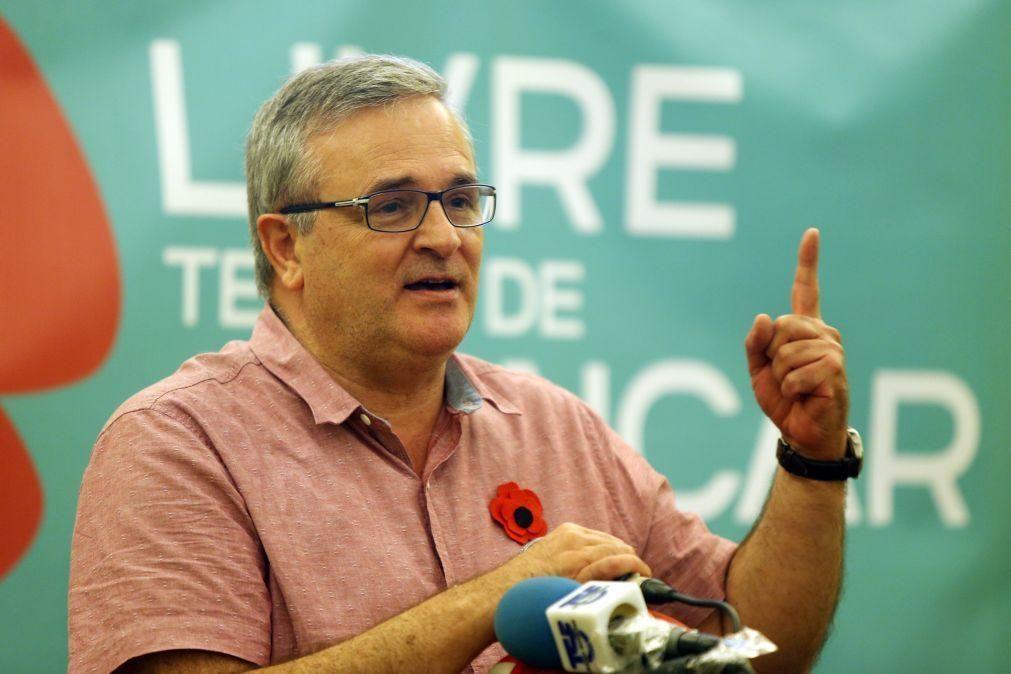 Presidenciais: PS «demitiu-se» de eleições e apoiou Marcelo, diz Sá Fernandes