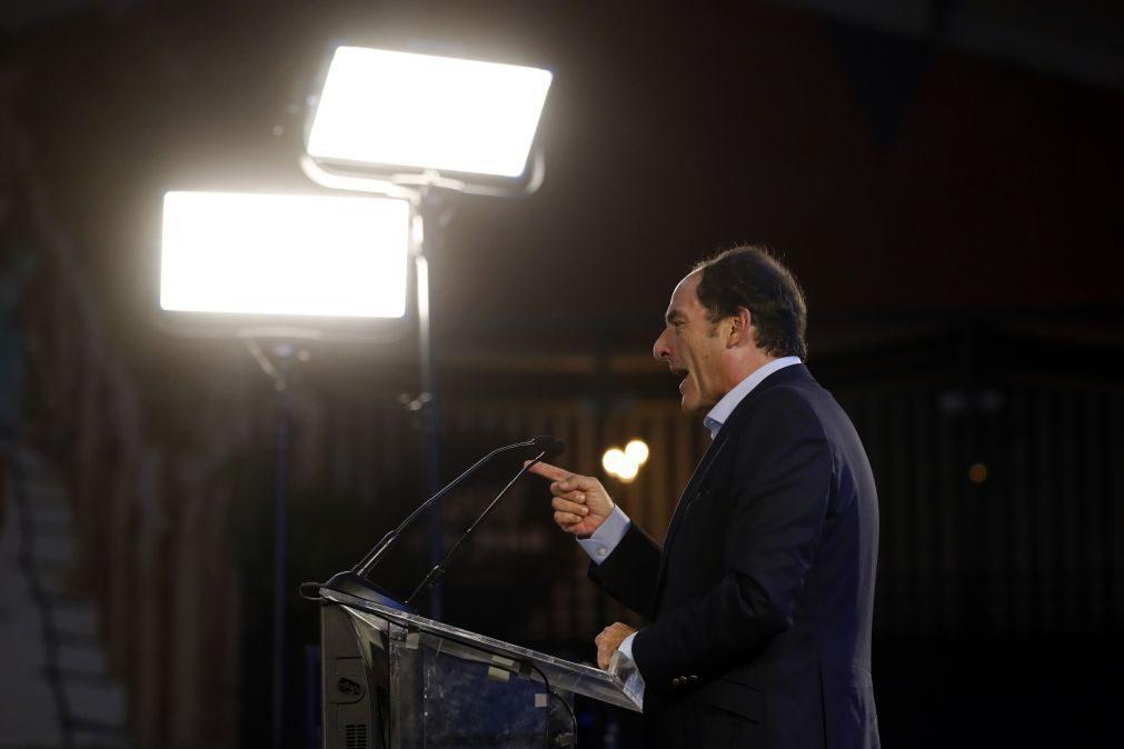 Presidenciais: «Pela primeira vez há um populista com dois dígitos», diz Paulo Portas