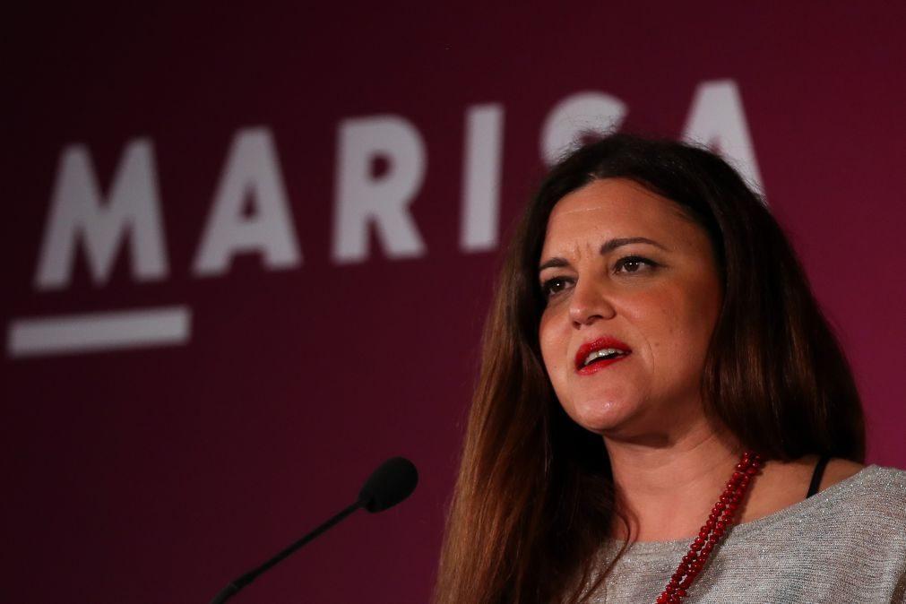 Presidenciais: Marisa remete esclarecimentos para o PS