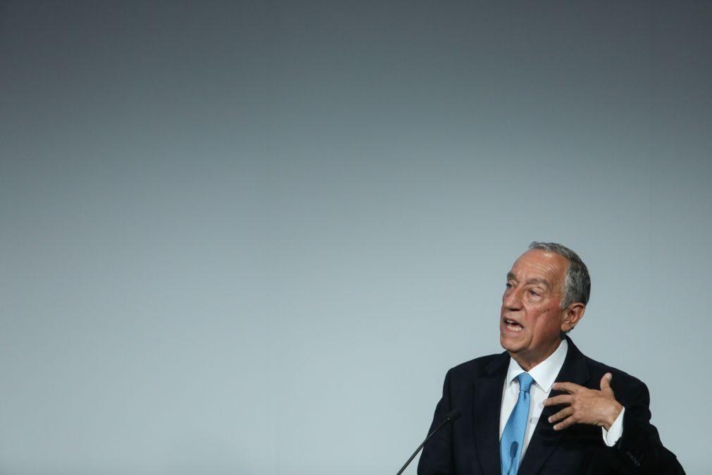 Presidenciais: «As circunstâncias mudam, mas a pessoa é a mesma», diz Marcelo