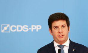 Presidenciais: Francisco Rodrigues dos Santos reclama vitória do CDS