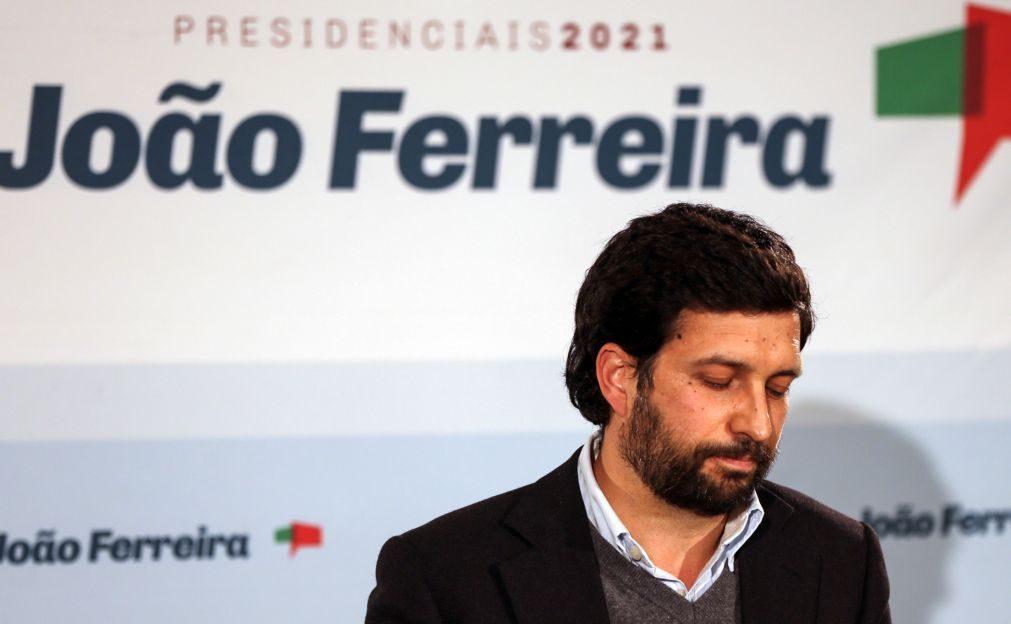 Presidenciais: João Ferreira diz que Constituição vai ser decisiva até 2026
