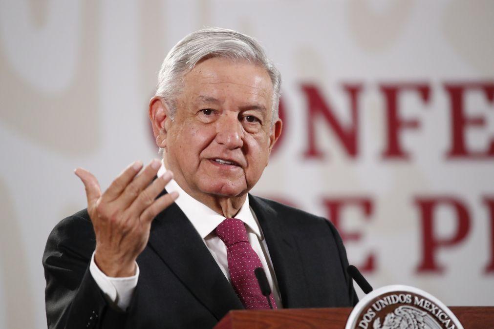 Covid-19: Presidente do México está infetado