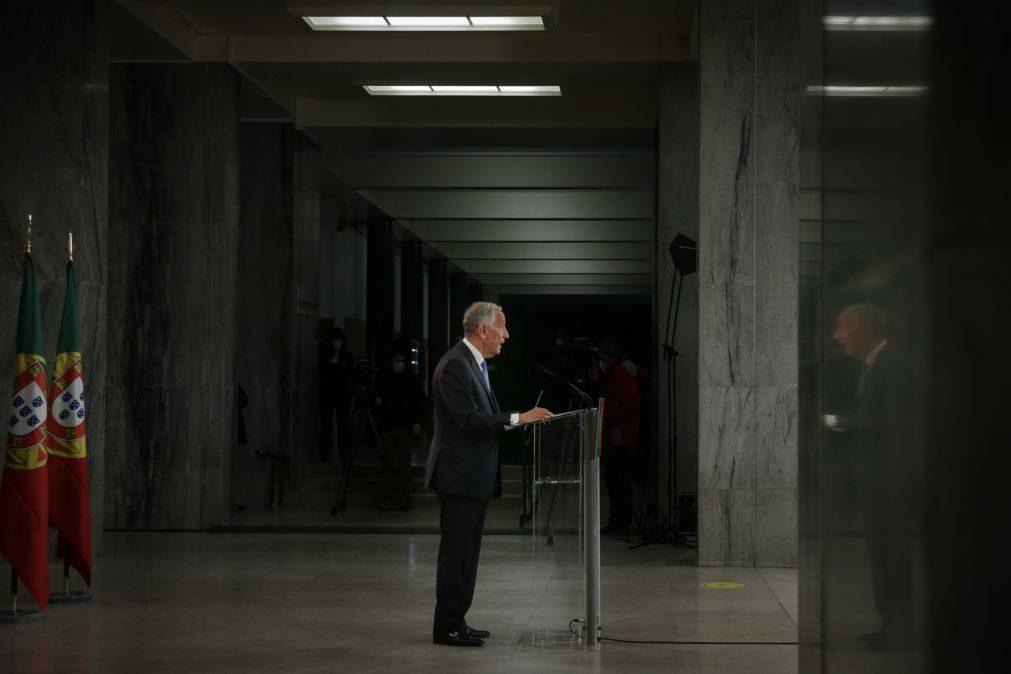 União Europeia felicita Marcelo Rebelo de Sousa pela reeleição