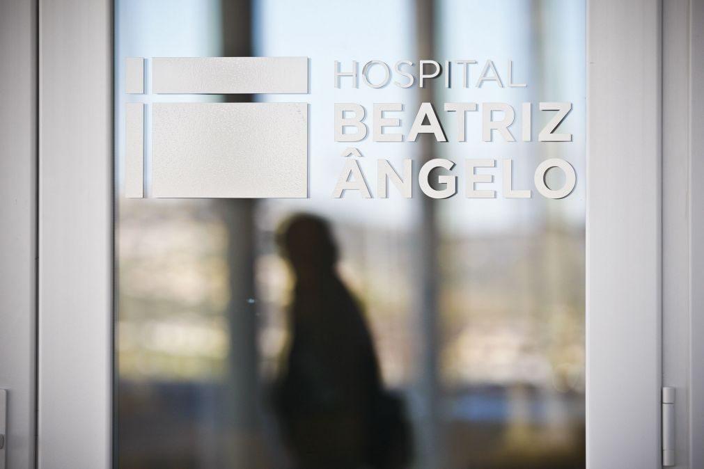 Covid-19: Hospital Beatriz Ângelo com 275 doentes internados, 22 em cuidados intensivos