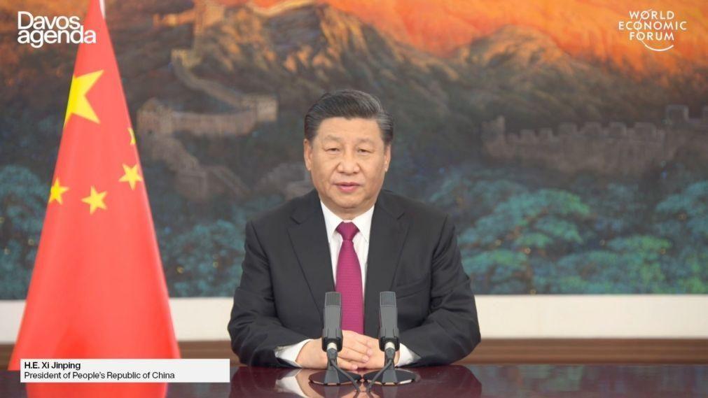 Presidente chinês alerta contra riscos de uma
