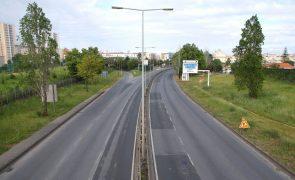 Obras na Segunda Circular em Lisboa provocam corte de trânsito entre hoje e 1 de fevereiro