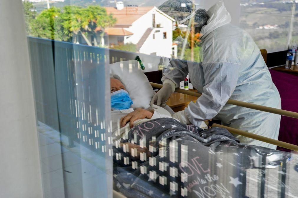 Covid-19: Vacinação de não prioritários nos lares é aproveitamento de sobras