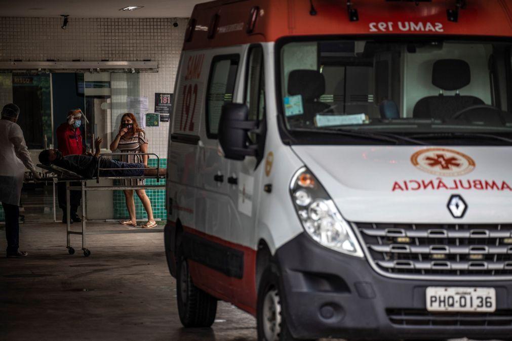 Covid-19: Mais 627 mortes e 26.816 infeções no Brasil nas últimas 24 horas
