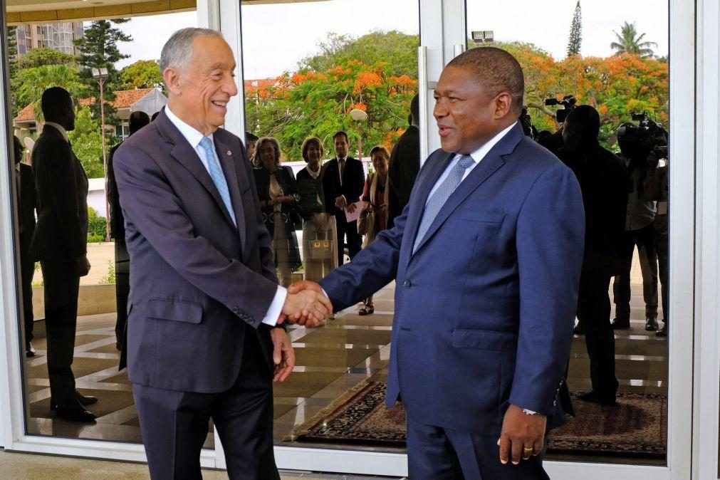 Presidenciais: PR moçambicano felicita Marcelo Rebelo de Sousa pela reeleição