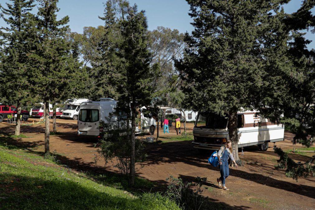 Covid-19: Campistas e autocaravanistas escolhem Algarve para confinamento pela segurança