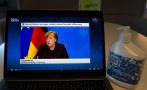 Limite da cooperação económica com a China está nos valores fundamentais- Merkel