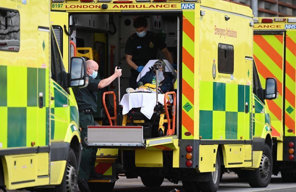 Covid-19: Reino Unido ultrapassa 100 mil mortes
