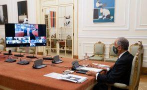 Covid-19: Presidente termina ronda com os partidos sobre renovação do estado de emergência