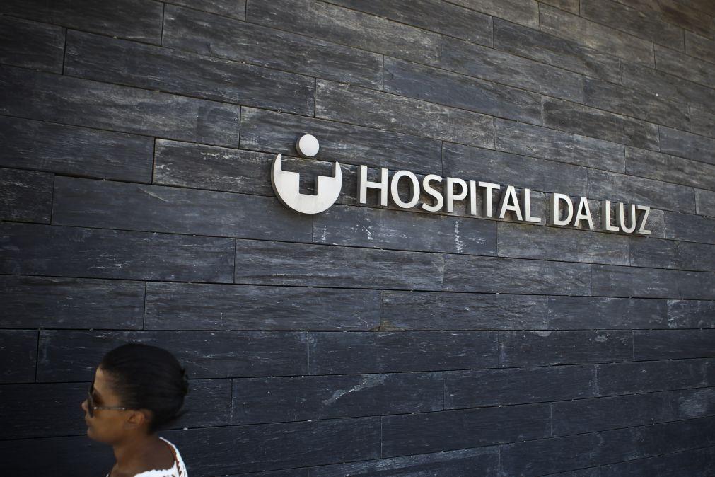 Hospital Amadora-Sintra abre enfermaria com médicos e doentes no Hospital da Luz