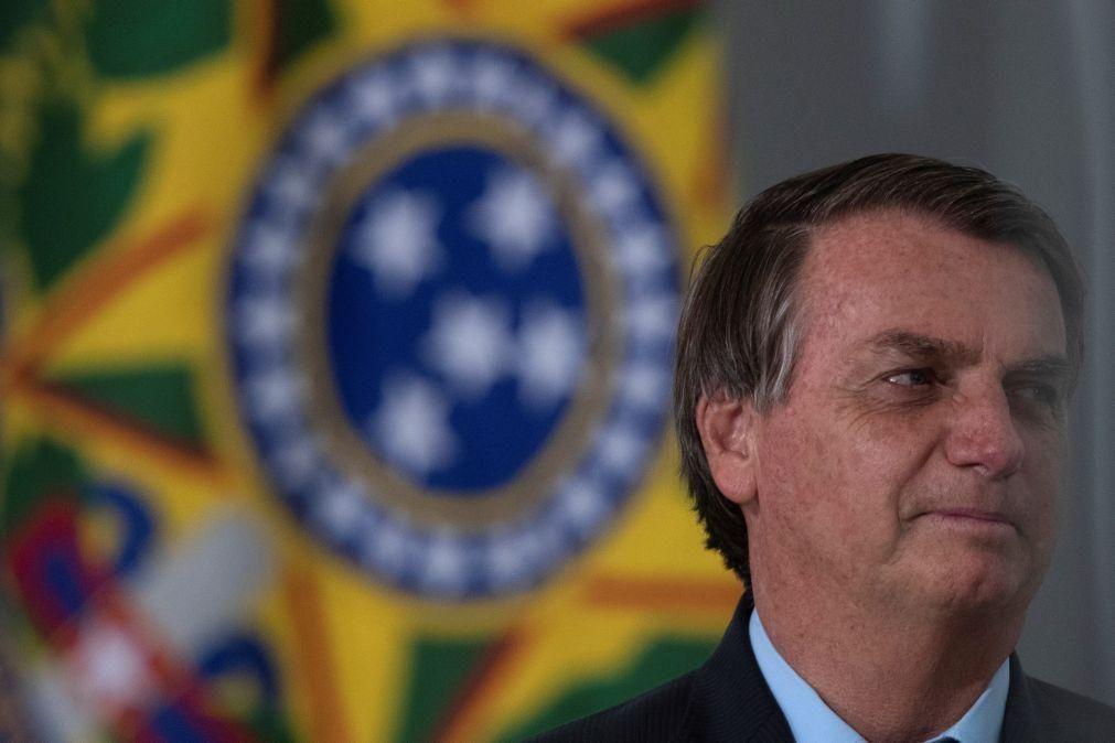 Presidenciais: Bolsonaro felicita Marcelo Rebelo de Sousa pela reeleição