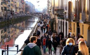 Covid-19: Itália regista 15.204 infeções e 467 mortes nas últimas 24 horas