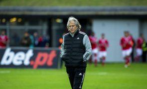 Benfica confirma que Jorge Jesus tem