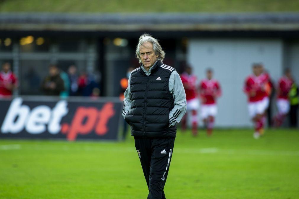 Benfica atualiza estado de saúde de Jorge Jesus