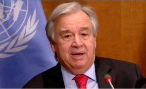Guterres pede unidade internacional face ao ressurgimento do antissemitismo