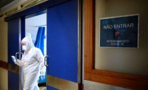 Covid-19: Centro Hospitalar do Médio Tejo com 144 pessoas internadas em enfermaria