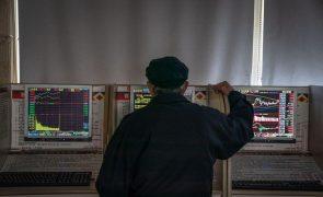 Bolsa de Xangai abre a perder 1,08%