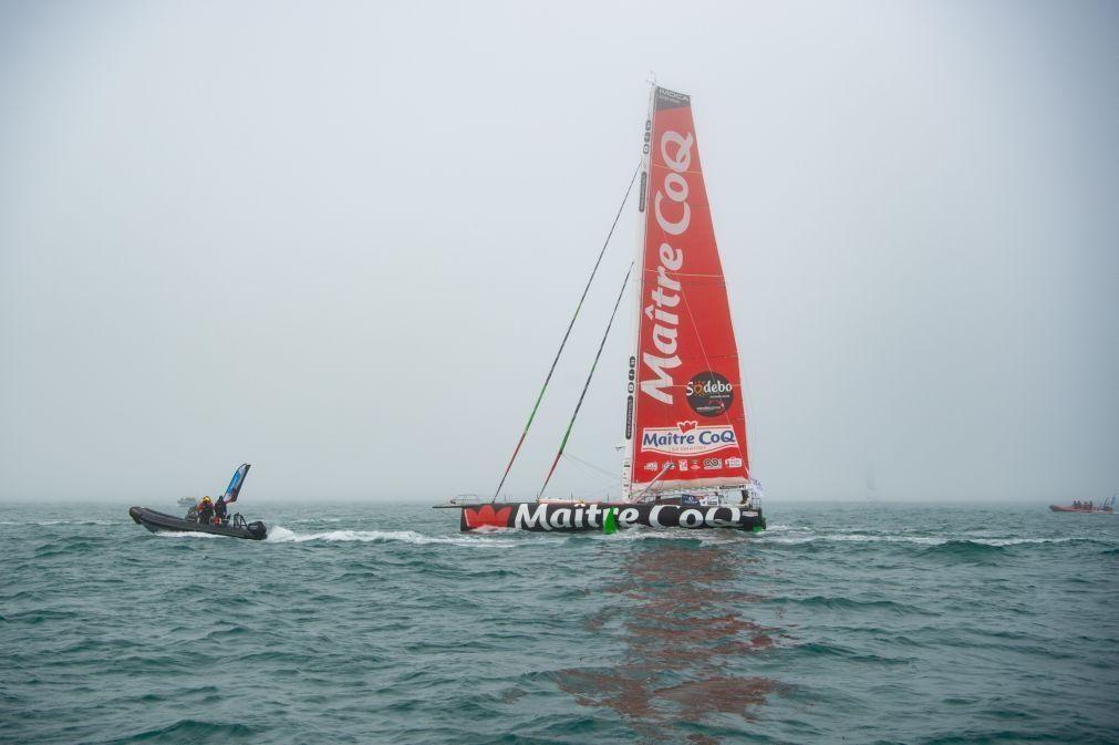 Francês Yannick Bestaven vence 9.ª edição da regata à volta do mundo Vendée Globe