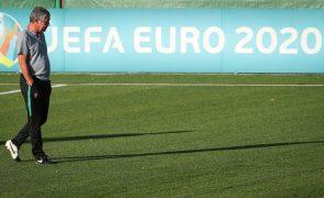 Euro2020: Portugal joga em Espanha e recebe Israel no fim da preparação