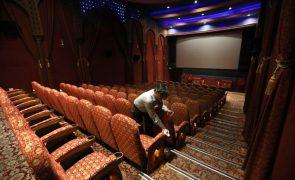 Covid-19: Cinemas na Europa com 70,6% de perdas de receitas em 2020