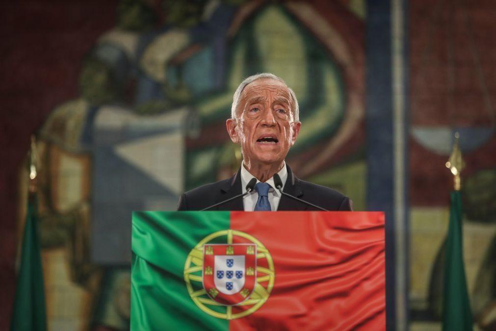 Marcelo estreia-se no Twitter em conta oficial da Presidência da República