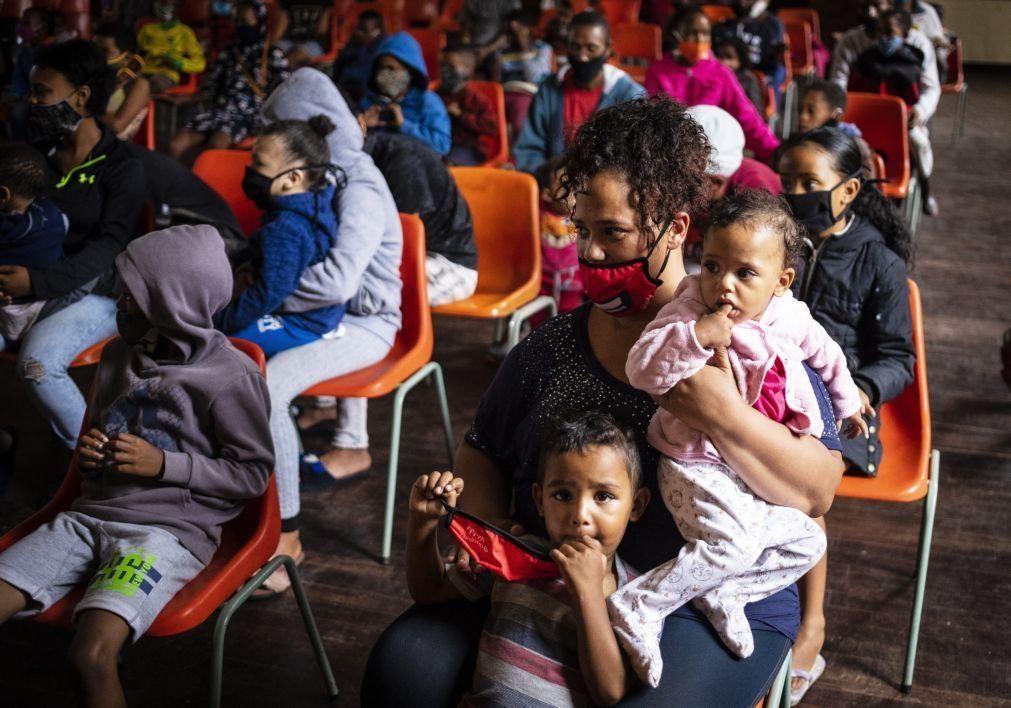 Covid-19: Falta de vacinas para criança é preocupante em África