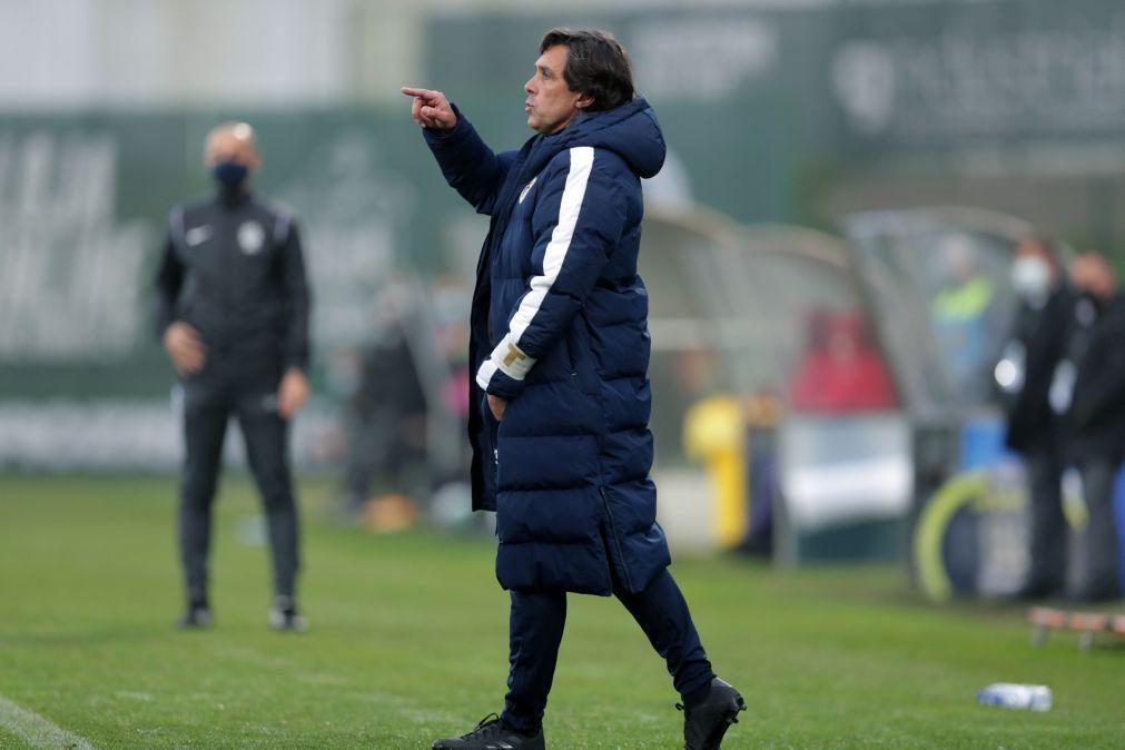Treinador do Santa Clara coloca pressão no Braga para o jogo da Taça de Portugal