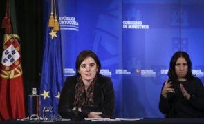 Covid-19: Governo mantém todas as restrições impostas nos últimos 15 dias