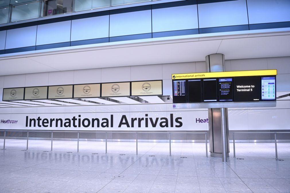 Covid-19: Reino Unido fecha fronteiras aos EAU, Burundi e Ruanda