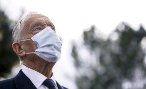 Covid-19: Presidente da República renova estado de emergência e defende ação drástica