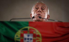 Covid-19: Marcelo afasta vacinação de centenas de políticos antes de milhares de idosos