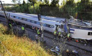 Investigação ao acidente com Alfa Pendular em Soure concluída até julho