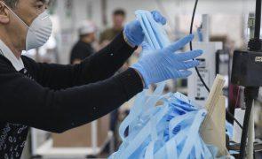 China exportou mais de 200 mil milhões de máscaras no ano passado