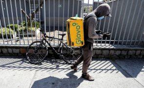Covid-19: Limites às taxas de entrega afetam viabilidade dos serviços, considera a Glovo