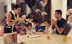 Georgina Rodriguez A prenda de aniversário dos filhos que a deixou derretida