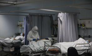 Covid-19: Pandemia ocupa 91% da capacidade dos hospitais da região Centro