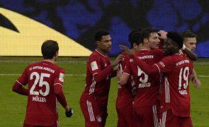 Bayern goleia e segue destacado na liderança, André Silva 'bisa' pelo Eintracht