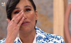 Rita Pereira desaba em lágrimas com mensagem de irmã