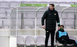 Vasco Seabra recusa Moreirense em vantagem face ao calendário apertado do Braga